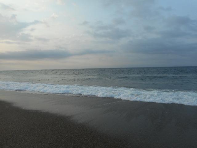 日の出直後の表浜